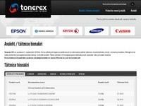 www.tonerex.ee